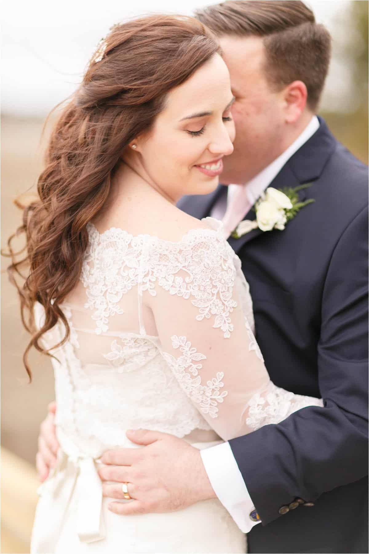 lighthouse sound wedding photos