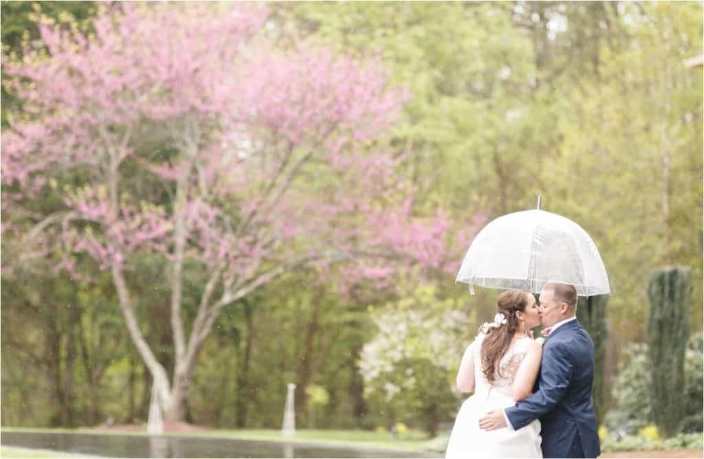 tips for rainy wedding photos