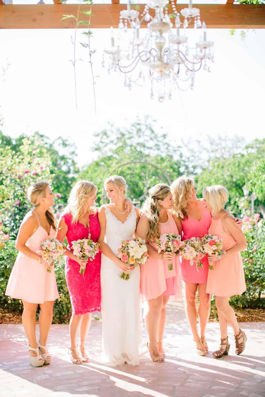 bridesmaid color inspiration