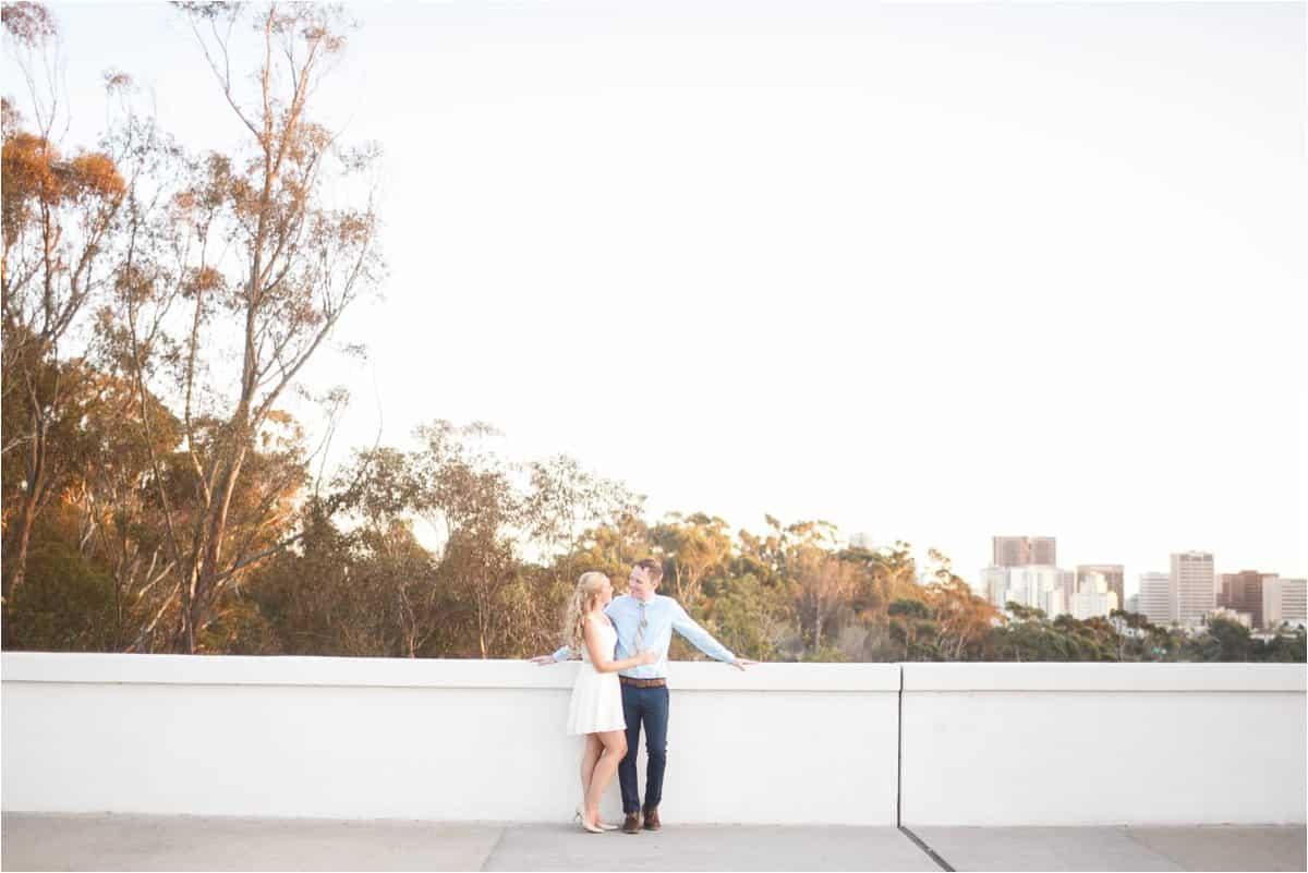 balboa park san diego california engagement photos