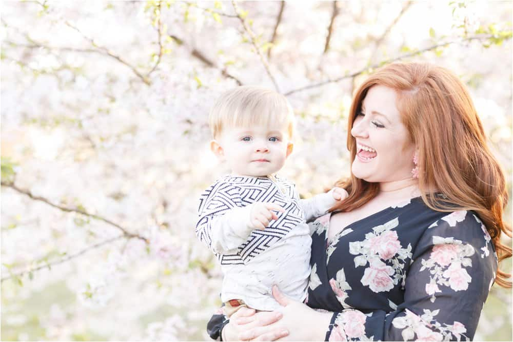 cherry blossom photo session