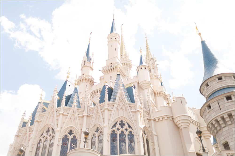 disney world orlando florida magic kingdom photo session