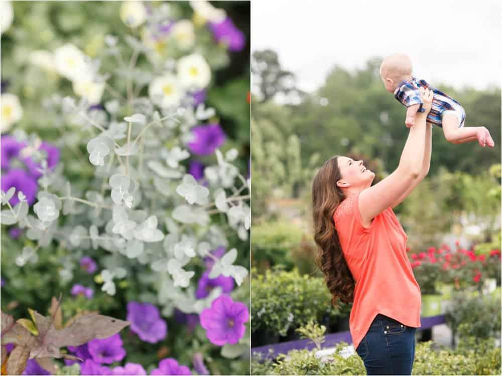 motherhood portraits greenhouse photos