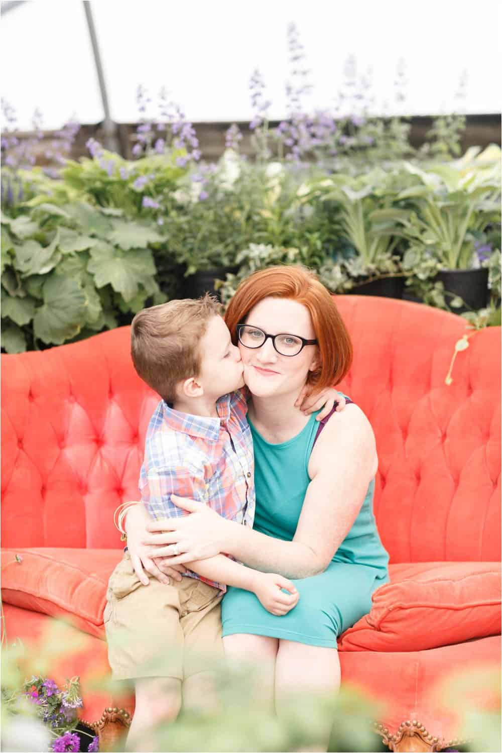 motherhood portraits greenhouse photos