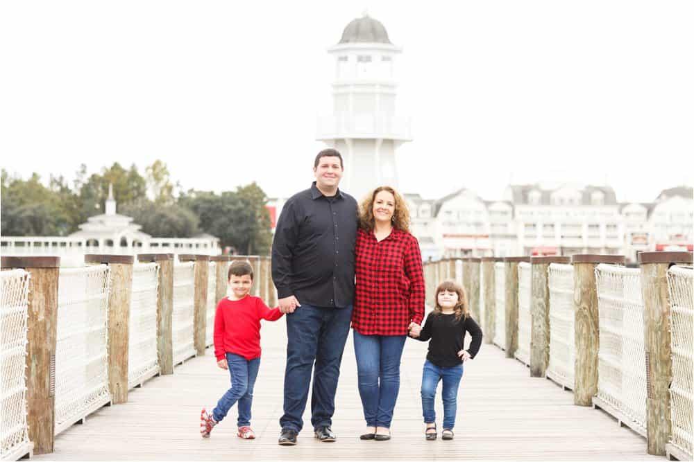 disney world boardwalk portrait photos