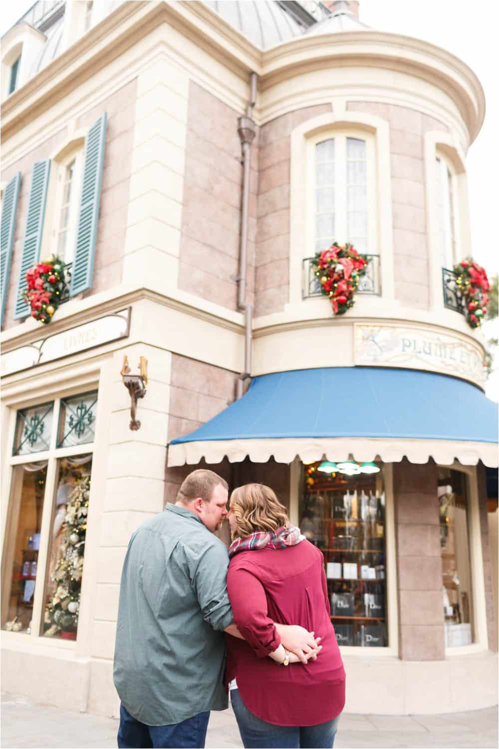 disney world engagement photos epcot engagement photos orlando engagement photos