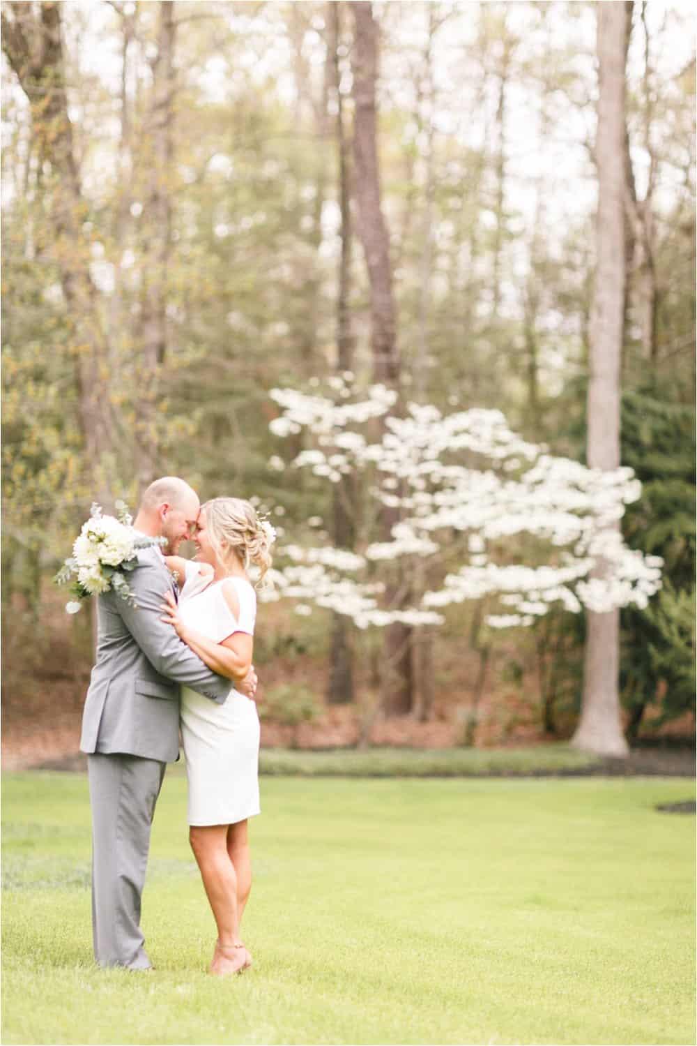 richmond virginia backyard wedding photos