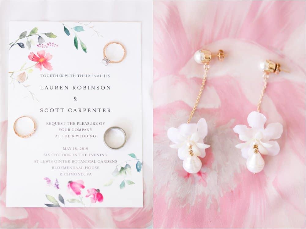 lewis ginter botanical gardens wedding photos