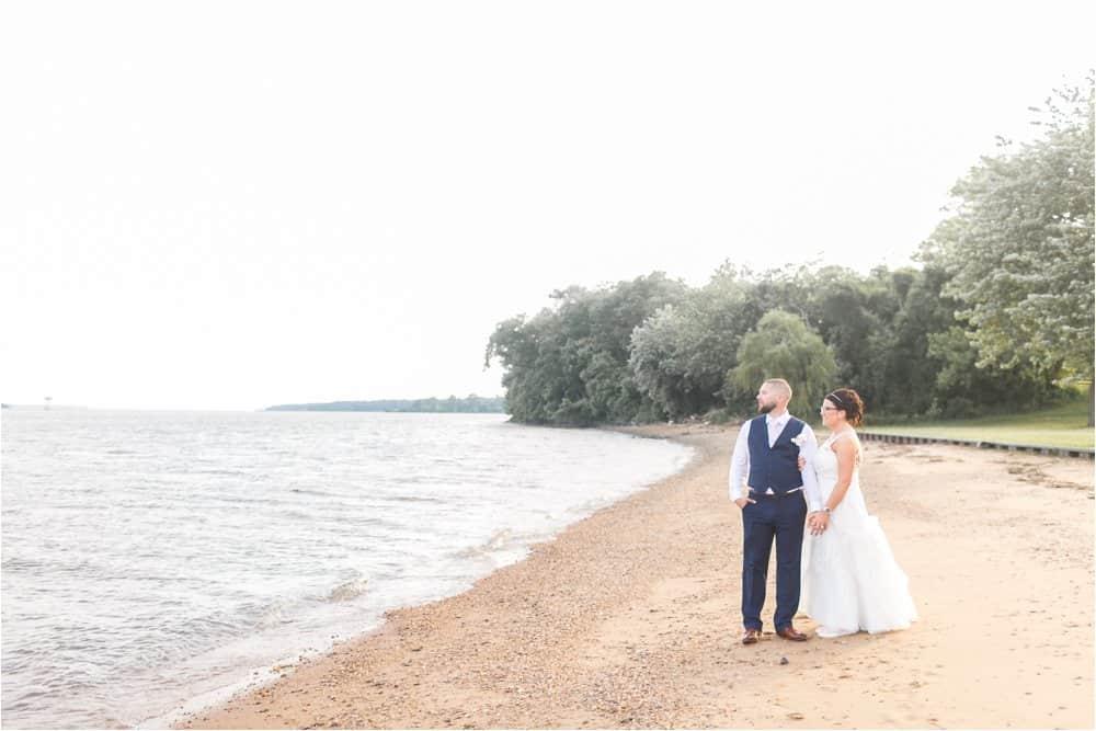 bohemia river overlook maryland wedding photos