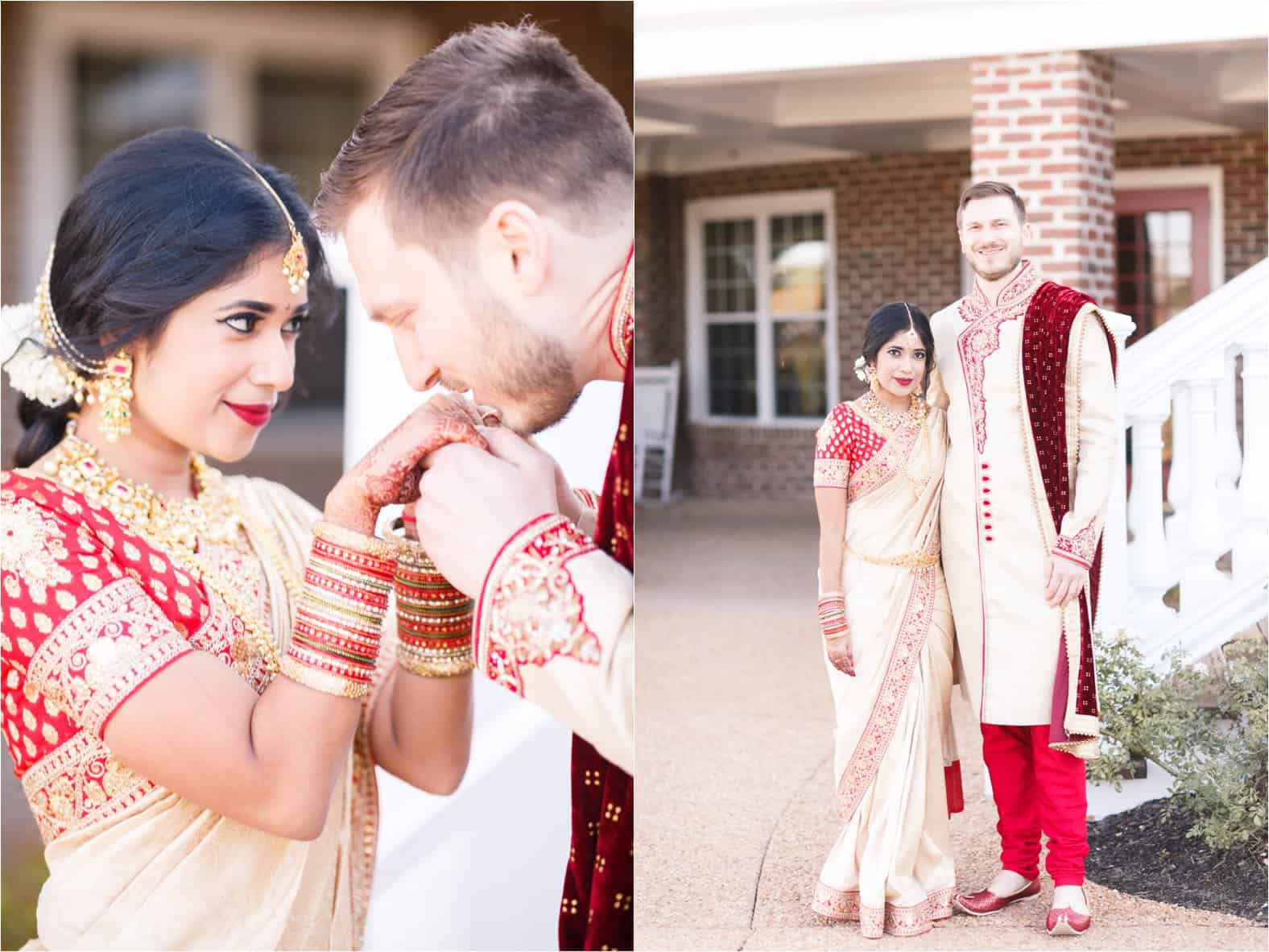 colonial heritage country club indian wedding williamsburg virginia wedding photos