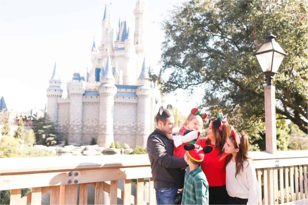 disney world magic kingdom cinderella's castle photos