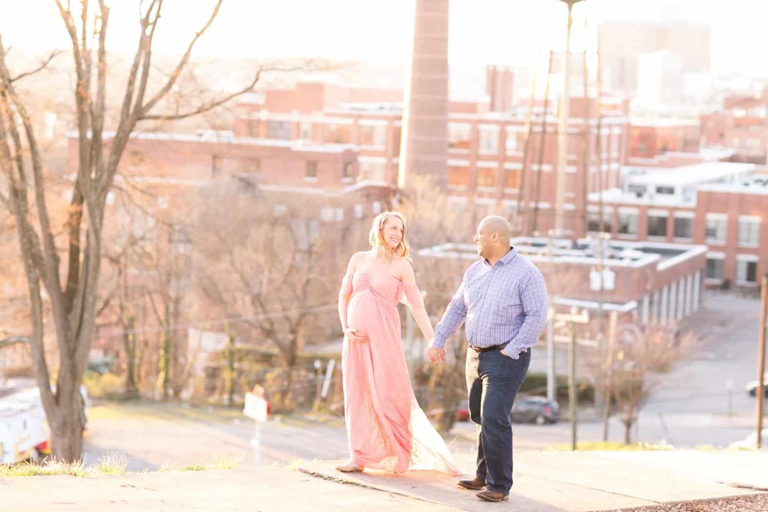 monument avenue richmond virginia maternity photos