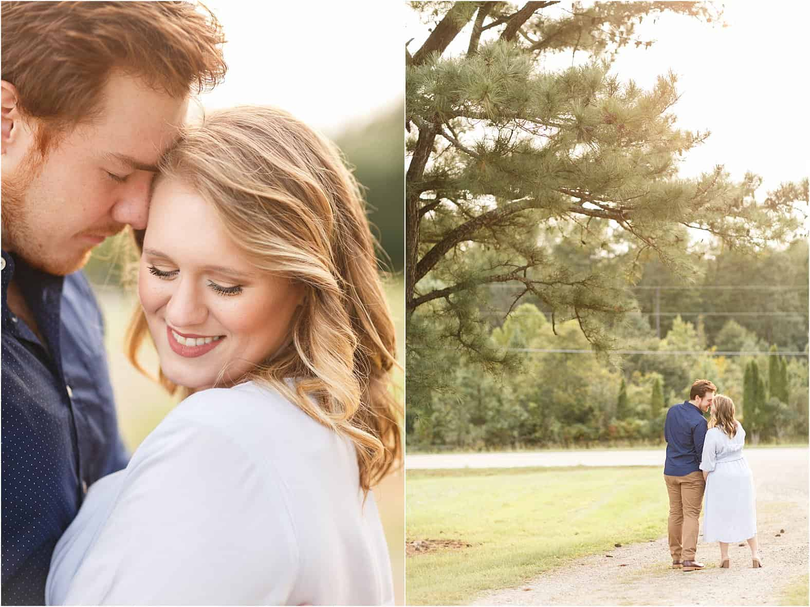 richmond virginia rural engagement photos