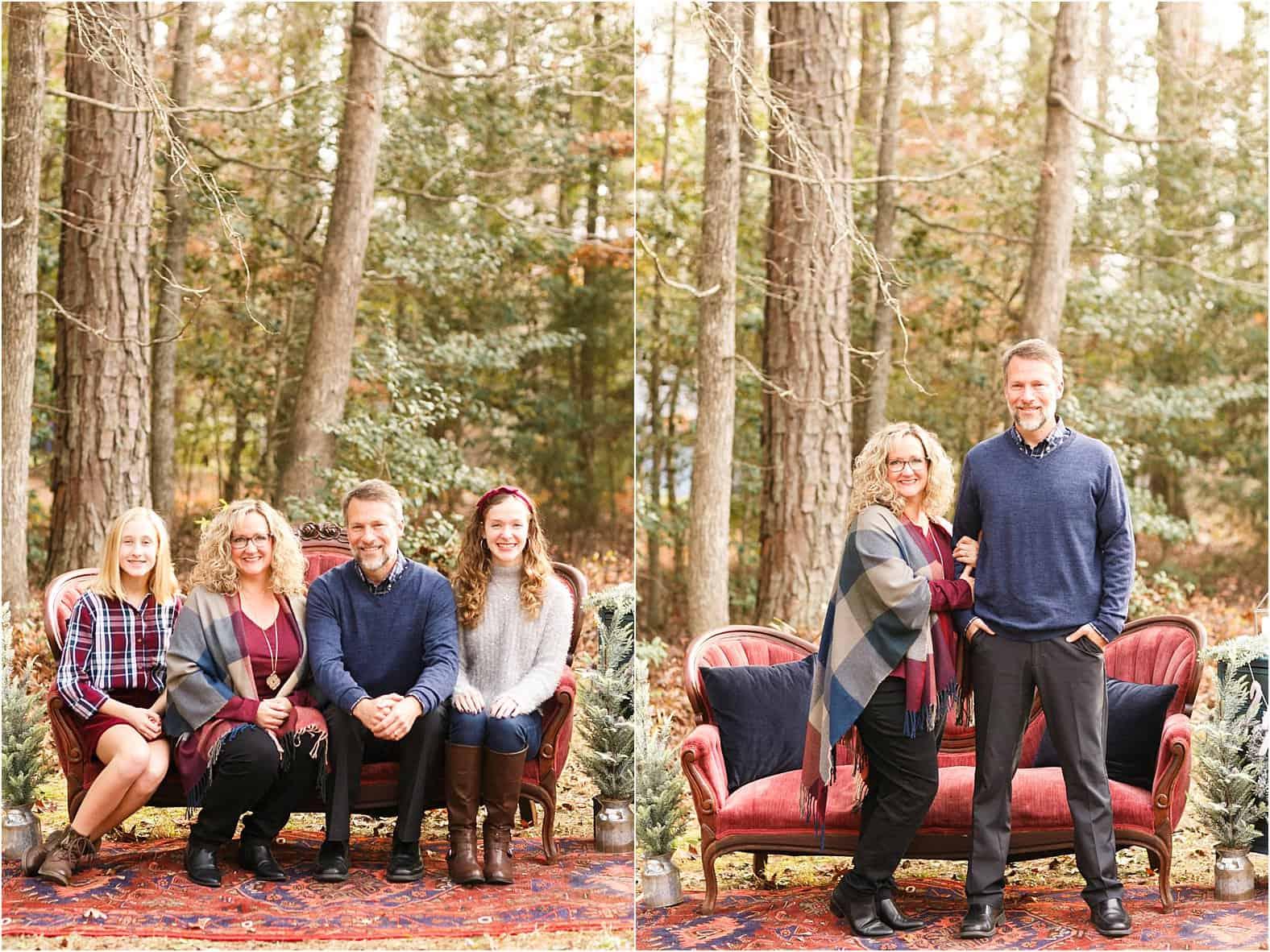 outdoor christmas mini photos