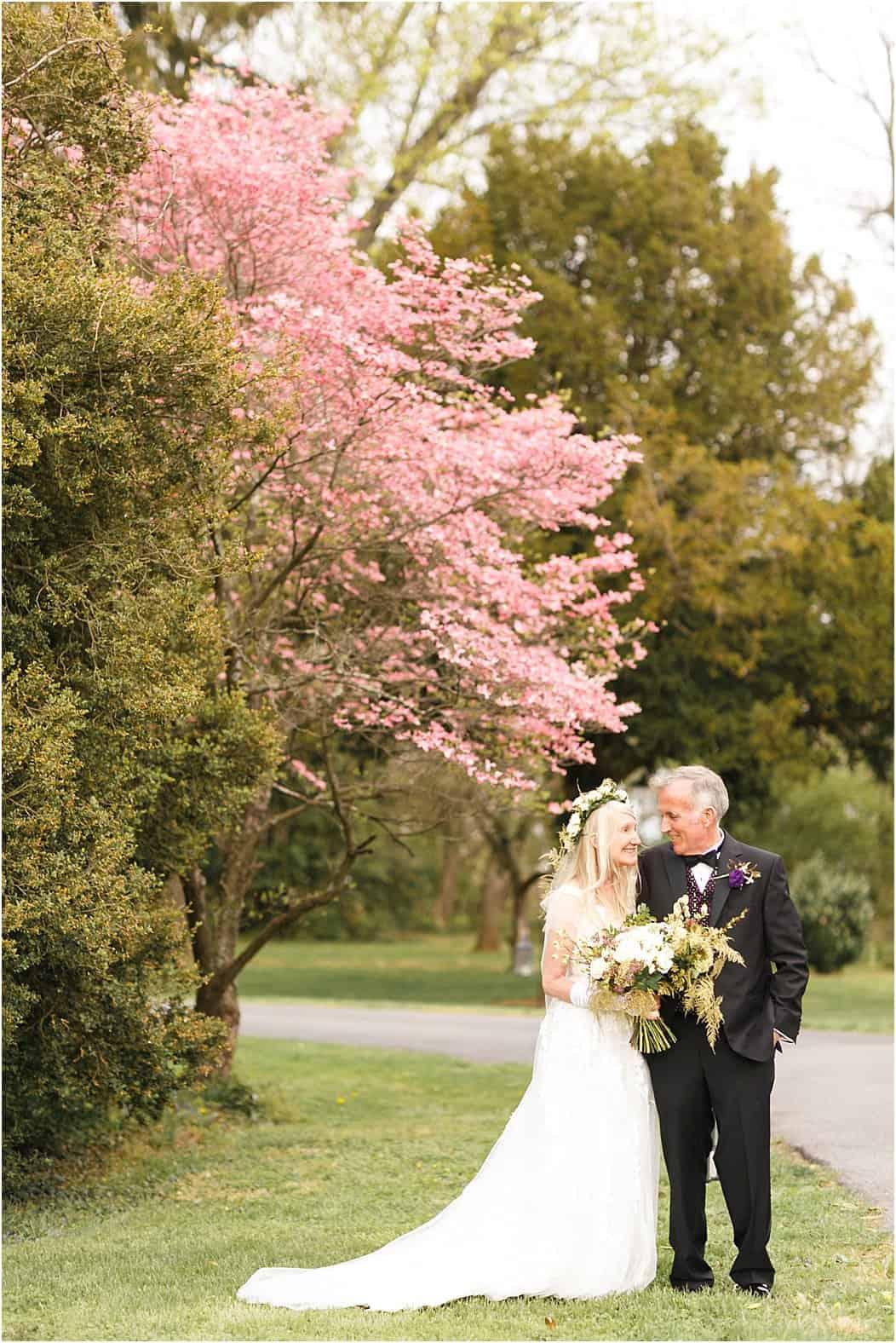rosemont manor spring wedding photos